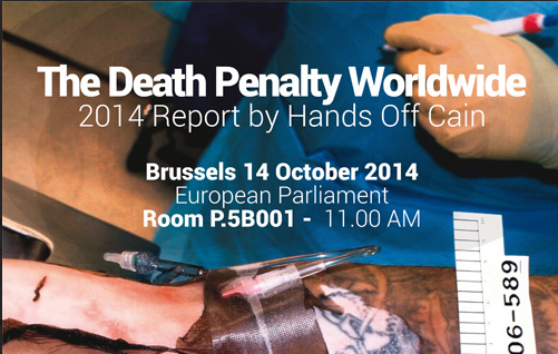 DEATH PENALTY: HANDS OFF CAIN, THE WORLD DAY AGAINST THE DEATH PENALTY FOR AFRICA