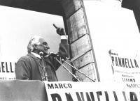 comizio di Pannella a Teramo (BN)