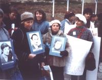 Bonino ed altri manifestano per i refuznik: perché l'URSS permetta agli ebrei russi di trasferirsi in Israele.