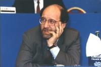 ritratto di Pier Virgilio Dastoli, segretario generale del Movimento Europeo