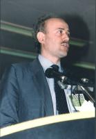 Sergio D'Elia alla tribuna del 36° Congresso del PR. 1105bis