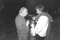 consiglio federale mcp. Bonino e Stanzani fotografati da Tano D'Amico (BN). Nelle altre altre foto dello stesso autore nello stesso cf