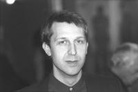 ritratto di Benedetto Della Vedova fotografato da Tano D'Amico (BN) ottima