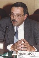 ritratto di Vasile Lascu, deputato romeno (Partito Social-Democratico tradizionale), membro del Consiglio Federale del PR.