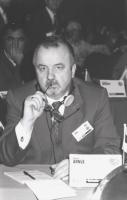 ritratto di Lembit Annus (Estonia) nel corso di una riunione del Consiglio Federale del PR (BN)