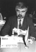ritratto di Gamlet Grigorian (Nagorno Karabach), membro del Consiglio Federale del PR (BN)