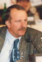 ritratto di Branko Caratan (docente di Scienze Politiche, Croazia, iscritto al PR).