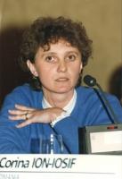 ritratto di Corina Ion-Iosif (deputato, Romania, membro del Consiglio Federale del PR).