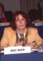 ritratto di Maud Marin (transessuale, Francia), in occasione di un'assemblea del Consiglio Federale del PR.