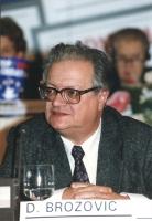 ritratto di Dalibor Brozovic (vicepresidente Unione Democratica Croata)