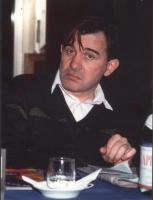 ritratto di Vito Cezmadisky (croato, membro del Consiglio Federale).  Foto deteriorata
