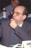 ritratto di Jorge Pegado Liz (Portogallo, avvocato, già membro del Parlamento Europeo), in occasione del Consiglio Federale del PR.