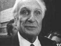 Marco Pannella in digiuno della sete per ottenere dal Presidente della Repubblica parole di verità in merito alla disinformazione sulla raccolta firme