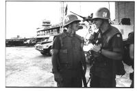 foto di caschi blu ONU in missione in Bosnia (BN) (Agenzia Contrasto) (Altre due foto sullo stesso tema dello stesso autore)