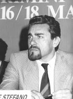 ritratto di Mario De Stefano, consigliere federale del PR (BN)