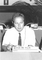 Consiglio Federale, I sessione, ritratto di Hyseini Agim (Kosovo) (BN)