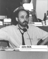 Consiglio Federale, I sessione, ritratto di John Bok (Cecoslovacchia) (BN)