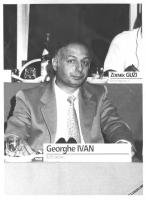 Consiglio Federale, I sessione, ritratto di Georghe Ivan (Romania) (BN)