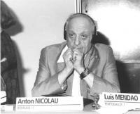 Consiglio Federale, I sessione, ritratto di Anton Nicolau (deputato, Romania) (BN)