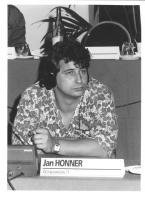 Consiglio Federale, I sessione, ritratto di Jan Honner (Cecoslovacchia) (BN)