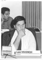 Consiglio Federale, I sessione, ritratto di Lazer Krasniqui (Kosovo) (BN)