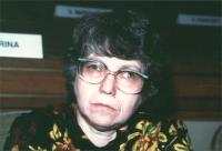 ritratto di Natalja Gorbanevskaja (dissidente russa)