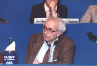 ritratto di Enrico Paolini, giornalista, federalista europeo, al 36° congresso PR I sess.