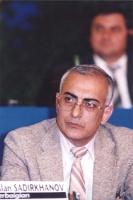 ritratto di Ruslan Sadirkhanov, Azerbaijan, al 36° congresso PR I sess.