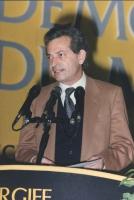 ritratto di Mario Signorino, segretario degli Amici della Terra, al 36° congresso PR I sess.