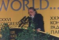 ritratto di Marco Vianello Chiodo (direttore esecutivo dell'UNICEF), al 36° congresso PR I sess.