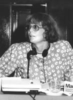 Consiglio Federale, I sessione, ritratto di Maud Marin (transessuale) (BN)