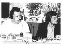 Consiglio Federale, I sessione.  Milan Krincek e Nikolaij Khramov.