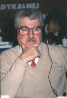 ritratto di Arnold Trebach (presidente della Trebach foundation).