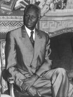 ritratto del Presidente del Senegal (BN)