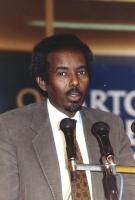 ritratto di Mohamed Aden Sheik (medico chirurgo, Somalia)