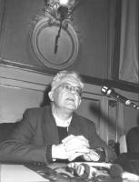 ritratto di Jean Cardonnel (sacerdote domenicano, sostenitore della campagna Sopravvivenza 82, e testimone a favore di Olivier Dupuis nel processo per