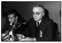 Bruno Zevi e Ruggero Guarini a un congresso radicale (BN) 1564bis