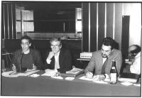 Da sinistra: ????, Emilio Vesce, Mario De Stefano.