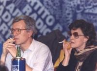 ritratto di Paolo Vigevano ed Ilaria Occhini