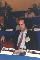Orlando Gutierrez (membro del Partito Radicale e segretario del Directorio revolucionario democratico Cubano) partecipa al 36° Congresso del PR. In se