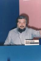 Alexeij Zotov (deputato del Soviet Supremo della Lettonia) al 36° Congresso del PR.