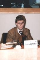 """""""Ritratto di Yves Léonard. Convegno del Cora al PE: """"""""Le iniziative antiproibizioniste nonviolente e parlamentari in materia di droga"""""""""""""""