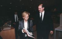 """""""Emma Bonino e George Papandreou (Grecia) ministro degli affari europei. Convegno del Cora al PE: """"""""Le iniziative antiproibizioniste nonviolente e par"""