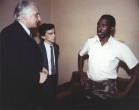 Pannella e Negri incontrano Thomas Sankara