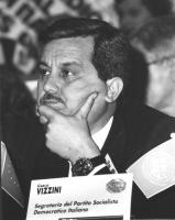 Ritratto di Carlo Vizzini (segretario del PSDI). 36° congresso II sessione (BN)