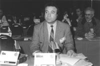 Ritratto di Gheorghe Raducanu, deputato (Romania). 36° congresso II sessione (BN)