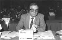 Ritratto di Vladimir Sevastjanov, deputato (Ucraina). 36° congresso II sessione (BN)