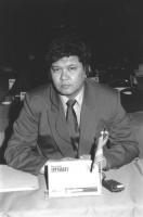 Ritratto di Ermuhamet Ertysbaev (Kazakistan) deputato. 36° congresso II sessione (BN)