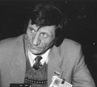 Ritratto di Gleb Lebedev (Russia) deputato. 36° congresso II sessione (BN)