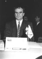 Ritratto di Muhamed Halili (Macedonia) deputato. 36° congresso II sessione (BN)